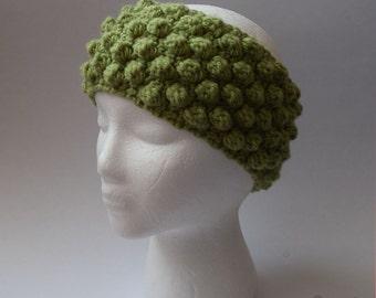 Bobble Ear Warmer (Crochet)