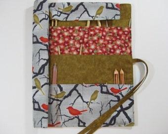 Knitting Needle Organizer, Knitting Needle Case, Circular Knitting Needle Case