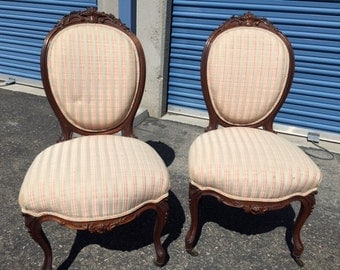 Antique French Dining Room chairs - SM