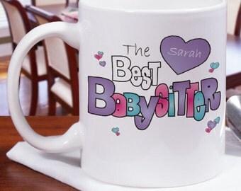 Personalized Babysitter Coffee Mug