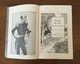 1900s Antique Edition of Beyond the City by Sir Arthur Conan Doyle