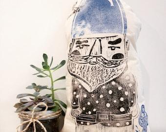 Gnome Pillow - Travelling Garden Gnome Cushion - Home Decor