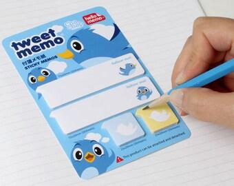 Twitter Sticky Note - memopad, notepad / 10CC15