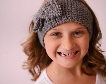 Fall/Winter Headband--Crochet Headband Baby Girl-- Crochet Ear Warmer