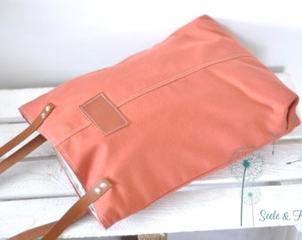 Kaya - the fine day bag in rust / fireplace-Red