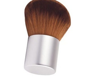 BABY Kabuki Makeup Brush - Short Handle Mineral Makeup Foundation Powder Brush