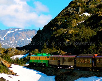 Train Photography, Great gift for train lovers, Landscape Photography, Nature Photography, Train Decor, Train Art, Nature Home Decor, Trains