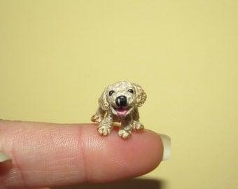 Miniature LABRADOR Puppy Miniature dog tiny dog Miniature puppy dollhouse pet portrait Dollhouse dog Dollhouse pet toy Custom dog portrait