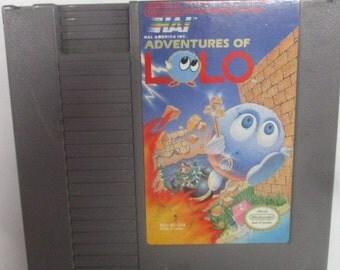 Nintendo NES Adventures of LoLo