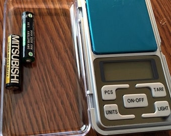 Digital Jewelry Scale, Carats, Grams, Ounces, New 500G / 0.01g (approx 1.1lb)Electronic Digital Pocket Scale