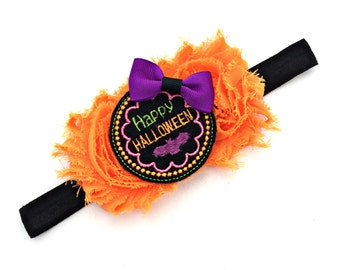 Halloween Headband, Halloween Hair bow, Halloween Hairbow, Halloween Bow, Halloween Hair Clip, Halloween Baby, Halloween Accessory