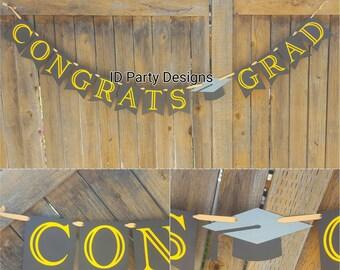 GRADUATION BANNER CONGRATS GRaD Class of 2017 You Did It! School banner