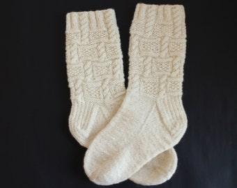 Hand knit socks