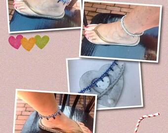 Micro Macrame Tutorial DIY Anklet