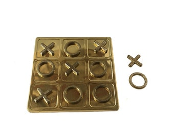 Brass Tic Tac Toe *FREE SHIPPING*