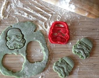 Star Wars cookie cutter. Stormtrooper cookie stamp