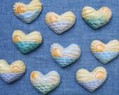 SUNRISE HEART ceramic magnet