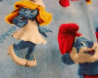 Quilt-Smurfs Twist Knot All Sales Final