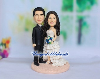 funny wedding topper, Cake Toppers, custom cake topper, wedding cake topper, custom bobblehead, cake topper wedding bobblehead, cake toppers