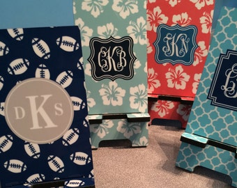 Personalized Phone Stand - Monogrammed Phone Charger Stand