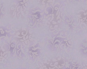 RJR Fabrics Chelsea 2106 03 Scroll Lavender Yardage by Jinny Beyer