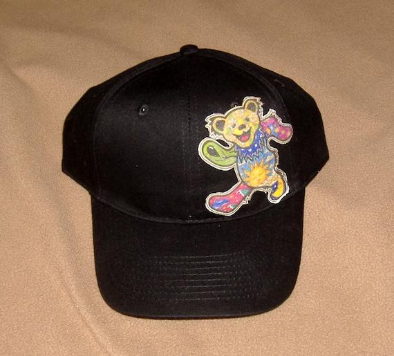 Grateful Dead Trucker Hat: Grateful Dead Jerry Bear Hat New Hand Made Unisex One Size
