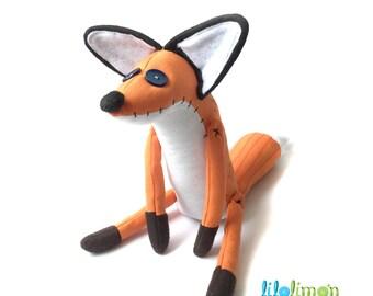 LITTLE PRINCE FOX / Zorro de El Principito / Fox plush