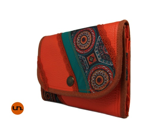 vegan leather wallet for women unique womens by