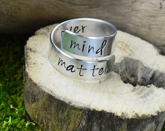 Mind Over Matter Wrap Ring