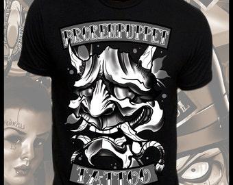 Dark Hannya Tattoo Art T-Shirt