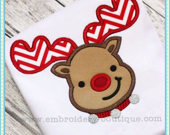 Baby Rudy Applique - This design is to be used on an embroidery machine. Instant DownloadOld