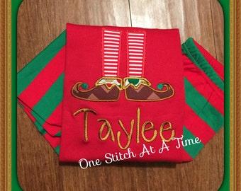 Elf Feet Shirt Only