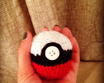 Handmade Pokéball Earphone Case