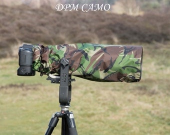 Waterproof Canon 400 mm F2.8, Camera and lens rain cover with carrying pouch, 4 Colours