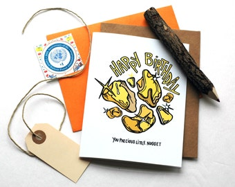 Precious Nugget Birthday Greeting Card