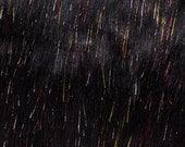 RESERVED for Penelope Black Sparkle + Lilac Foil Mini Monster Shoulder Bags