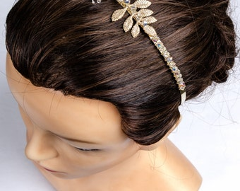 """Jewelry-Wedding headband """""""" Anais""""for wedding, ceremony or any other event"""