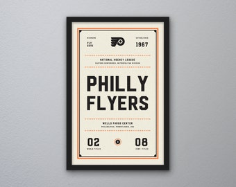 "Philadelphia Flyers ""Day & Night"" Print"