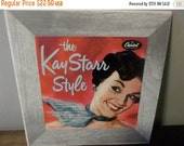 Save 70% Today Rare Vintage 1953 10 Inch Record Kay Starr The Kay Starr Style Capitol Records H363 w/original Cover