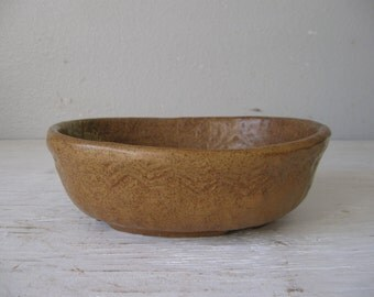 Vintage Pottery, Earthenware Dish