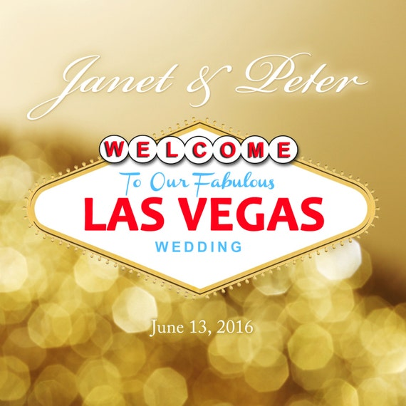 Las Vegas Destination Wedding Gift Bags : invites destination wedding for wedding welcome bags USD 30 00