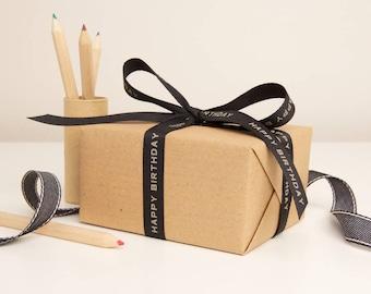 Birthday Gift Wrap Kit