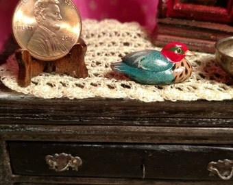 Dollhouse Miniature Duck 1:12 scale 17424