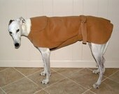W0 Champagne Greyhound Winter Coat.  1 of each size available.  Free Shipping!