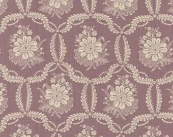 Ville Fleurie Honfleur Lavender - 1/2yd