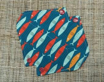17 cm Organic Cotton Fishes