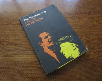 The Homecoming, Harold Pinter, 1967, Contemporary Plays, Theater, Drama, Script, HC DJ, Vintage Book, Sexuality,1960's Culture,Relationships