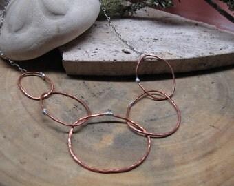 Copper Loop Necklace