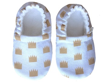 Crowns - Ari&i Soft Sole Shoes- Made to order