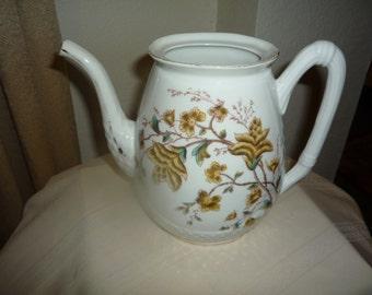 Limoge's Floral Teapot